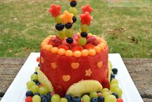 Ideas saludables cumpleaño