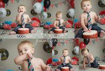 Themed Toddler Photoshoots & Cake Smashes - Inspiration