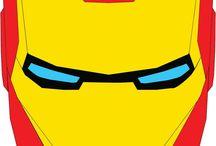 maschere e super eroi - máscaras y superhéroes -