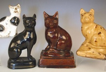 Staffordshire Cats / by Stevie Stacy