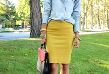 9 to 5 / Wardrobe inspiration for work / by Na'im
