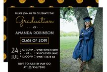 Graduation Parties / Graduation Party invitations and gifts.