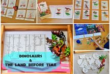 Dinosaur Study Ideas and Activities / Study Ideas | Activities | Homeschooling | Educational | Dinosaurs  | Printables | Learning | Unit Studies | Crafts | Animals