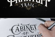 lettering / drawn