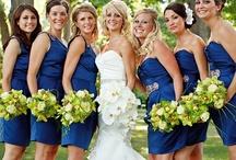 Blue & Green / Blue & green wedding theme with natural confetti ideas from The confetti cone company www.confetti-cones.co.uk
