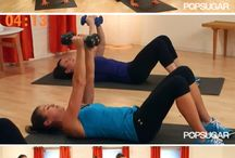 Arm Workouts / Exercises and workouts to target the arms, shoulders, and upper back.  / by POPSUGAR Fitness