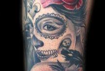 Tattoo Woman Head
