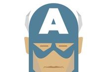 Illustrations / Heros