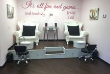 pedicure station redesign