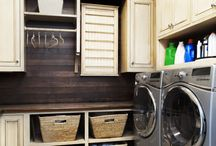 Laundry Room Ideas / Find ideas for decorating and organizing your laundry room.