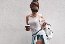 CROC White Backpack