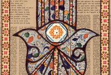 Khamsa / Different interpretations of the powerful symbol of protection.