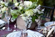flowers and decor reception