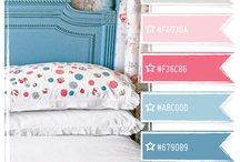 Color Crush / Be inspired by these glorious color combinations. For the home, your next web design or crafting project