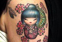 kokeshi tatoo