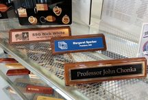 Signs, Office and Related / We custom make signs for business and fun around the house.