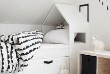 Kids room Black & White ⎪Pokojíček bílá a černá