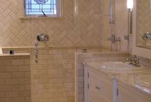 Bathrooms ~ Small - Big Style / by The Decorated House ~ Donna Courtney