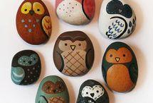 Камни-роспись