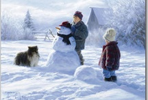 Art {country by duncan, daly etc} / I love the imagery of these artists who depict simpler times in a country setting.