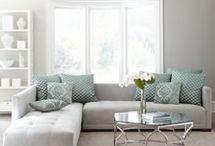 living room ideas- duck egg