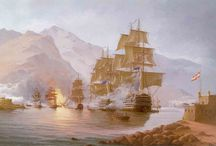 Pinturas Combates Navales