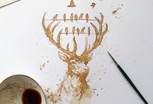 Koffie Painting - Art