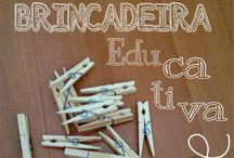 Brincadeiras educativas e caseiras / Dicas de brincadeiras simples, educativos e feitas em casa!