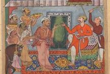 Tuti-nama or (Tales of a Parrot) / Tutinama or (tales of a parrot), is a 14th century Persian series of 52 stories. The adventure stories narrated by a parrot night after night, are moralistic stories to persuade his owner not to commit any adulterous act with any lover in the absence of her husband. Created in a span of five years by two Iranian artists Mir Sayyid Ali & Abdul Samad  .