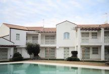 """Immobilie zum Kauf in Jesolo / Jesolo, Wohnung in der ersten und letzten Etage in der Anlage """"LES MAISONS"""" zum Verkauf."""
