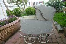 old carriage - pram - strollers - puppenwagen - kinderwagen - ...