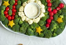 Christmas Parties / Christmas color meals