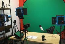 Steven Cox Instagram Photos Setting up my new video studio! #nerdalert