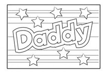 Father's Day / Lovely activities and cards for your child to complete to celebrate Father's Day! Visit iChild.co.uk for thousands more themed activities for children aged 0 - 11 years.