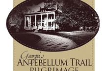 Georgia's Antebellum Trail / Discover the south's bygone era, where skirts were big but mansions were bigger. Follow Georgia's Antebellum Trail, to historical sites and homes throughout seven communities from Athens to Macon. www.atpilgrimage.com