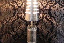 Les créations de Katal / #Upcycling - art - créations de lampes - meubles - métal - #recyclage