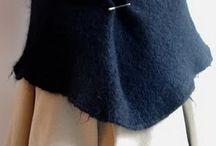 jolies écharpes, cols... à coudre