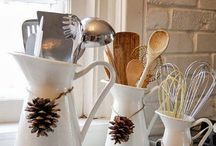 Fall Kitchen Decor / Use these great ideas to decorate your kitchen just in time for Fall! / by StockCabinetExpress
