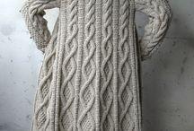 Macrame dresses and wool sweaters etc./Din Lana si Macrame Rochii Pulovere etc