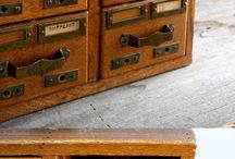 APOTHECARY CABINETS