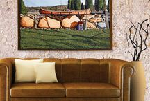 Bob Timberlake / Works by renowned artist Bob Timberlake, available in the Bob Timberlake Tapestry Collection https://www.art-and-home.net/blog/the-bob-timberlake-tapestry-collection/