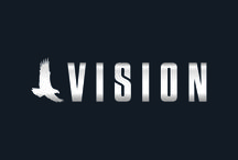 Trabalho Acadêmico Vision / Trata-se de um logotipo e banner para o curso de logística de meu amigo Diogo.