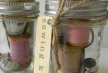 Something in a jar / What to do with empty glass jars