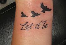tattoos / by Alana Gifford