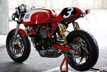 Cafe racer fever / Plan jest , teraz w poszukiwaniach bazy Desmo ;-)