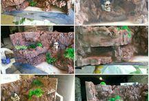Finta roccia in polistirolo