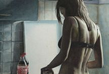 Marcos Beccari / Ilustrações em aquarela do artista Beccari