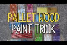 Kolorowanie drewna