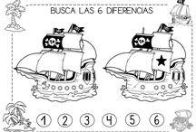 proyecto piratas infantil