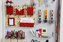 Crafts and sewing room